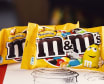 M&Ms Yellow milk chocolate candy with peanuts 45g 4607065000790