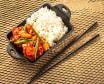 Рис з куркою в кисло-солодкому соусі (335г)