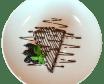 Шоколадний брауні з ягодами (150г)
