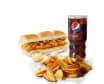 Menú Hot Dog (15cm)