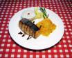 Стейк із лосося з імбирним рисом (150г)
