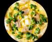 Pizza Micuit de Foie (mitjana)