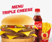 Menu Triple Cheese
