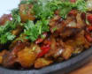 Ojakhuri with pork
