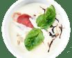 Сирний крем-суп (230/20г)