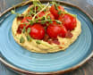 Picked tomatoes with avocado hummus (255г)