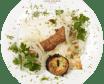 Люля-кебаб з яловичиною та баклажаном (200г)