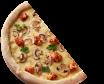 Піца-половинка Куряча з грибами (30см/270г)