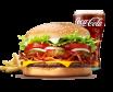 Bacon&Cheese Whopper Burger Zestaw