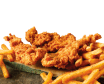 Combo pollo, kids meal chicken fingers