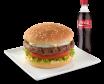 Glovo WOW: Hamburguesa de lomo + gaseosa