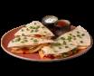 Quesadilla meksykańska z kurczakiem w zestawie z sosami 350g