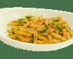 Penne rigate sa paradajz sosom i bosiljkom