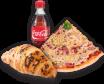 Pizza šunka-sir + premium croissant s lješnjakom 70g + coca cola 0,5l