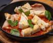 Кальмари гриль із томатною сальсою та брускетою (300г)