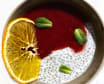 Кокосовий мус з чiа та ягідного кулі (150г)