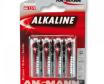 Pilha alcalina AAA LR3 (Blister 4)