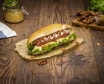 Hot Dog Crispy Bacon