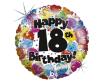 Happy 18th Birthday, 45 cm
