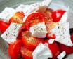 Salată de roșii cherry cu branza feta