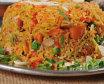 Kathmandu kukhura pulao + mix vegetable raita (1/2)