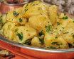 Buttered potato