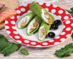 Млинці шпинатні з лосоем (160г)