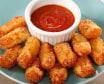 Mozzarella Stick 8 pcs + sauce