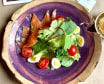Салат з лососем під соусом (265г)