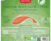 Bio - Filet De Truite Fumée Nature - 50 Gr