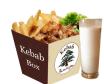 7- Zestaw Mały Kebab BOX woł-bar + Ayran