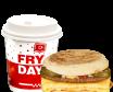 MiniDejun Egg Little Hamburger + Cafea