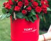 Троянди в коробці З коханням до тебе