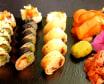 #Combo 1.0 Sushi, sałatka i deser