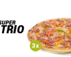 SUPER TRIO: 3 x Pizza średnia - 19,99zł/szt