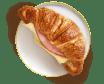 Croissant Ham & Cheese