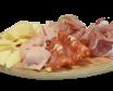 Tavolozza affettati e formaggi