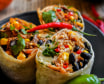 Burrito Średnie Szarpana Wołowina