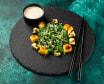 Хіяші Вакаме з манго, авокадо та горіховим соусом (120/30г)