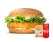 ქათმის ბურგერის მენიუ / Chicken Burger Menu