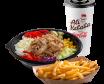 Classic kebab menu posuda – mala