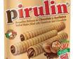 Pirulin Barquilla rellena de chocolates y Avellanas Pirulin, 155 g