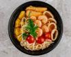 Sladko - kisla juha z morskimi sadeži