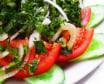 კიტრი-პომიდვრის სალათი