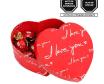 Caja Corazón I Love You con bombones Sorini