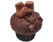 Muffin toffee & chocolate Rolo