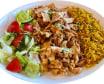 76 Danie Kebab z kurczaka