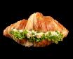 Croissant z pastą jajeczną 120g