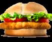 Chicken Deluxe sandwich