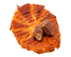 Croissant planxat de crema de Kinder Bueno
